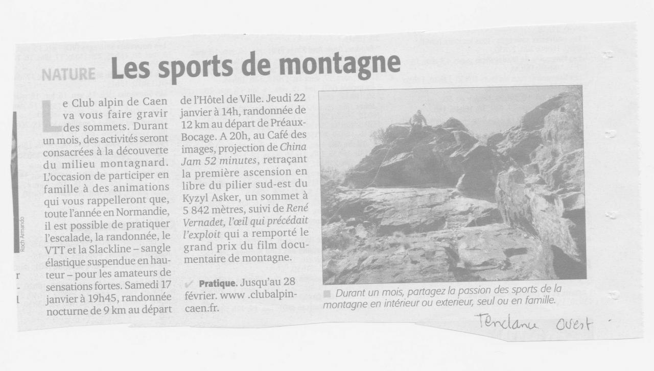 article Tendance ouest