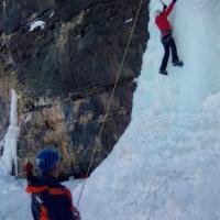 Cascade de glace vers Guillestre
