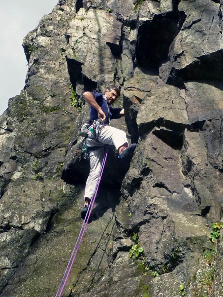 Dod grimpe en Normandie (1)