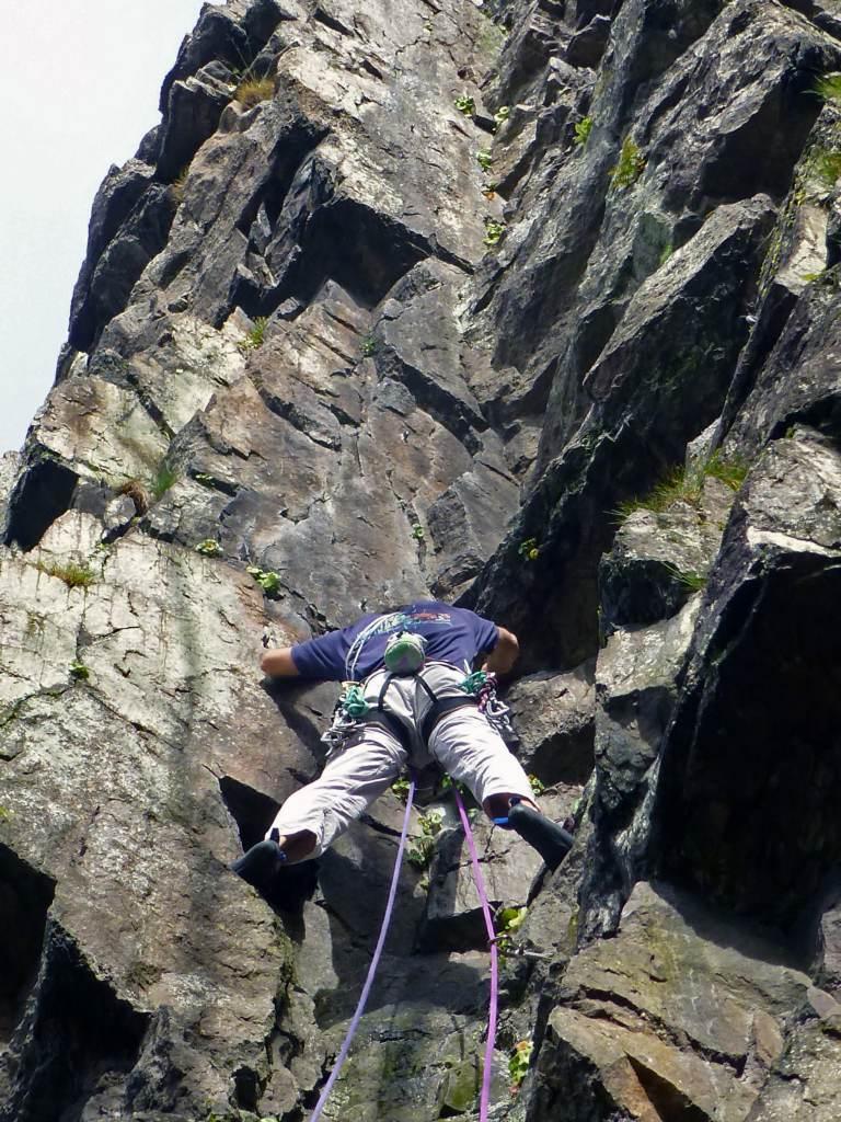 Dod grimpe en Normandie (2)