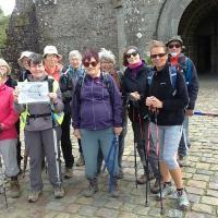 Rando de Lonlay l'Abbaye - le groupe des chanceux