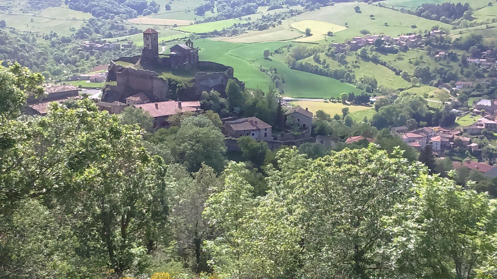 St Ilpize, forteresse médiévale