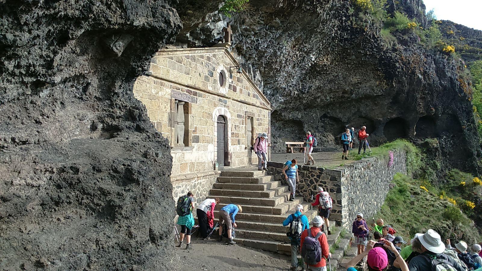 la chapelle de la Madeleine (c'est écrit juste après !)