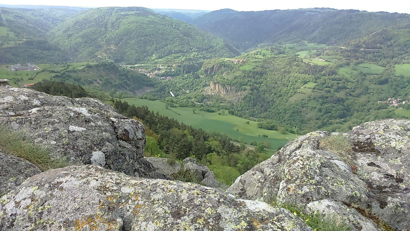 Vue de Rochegude