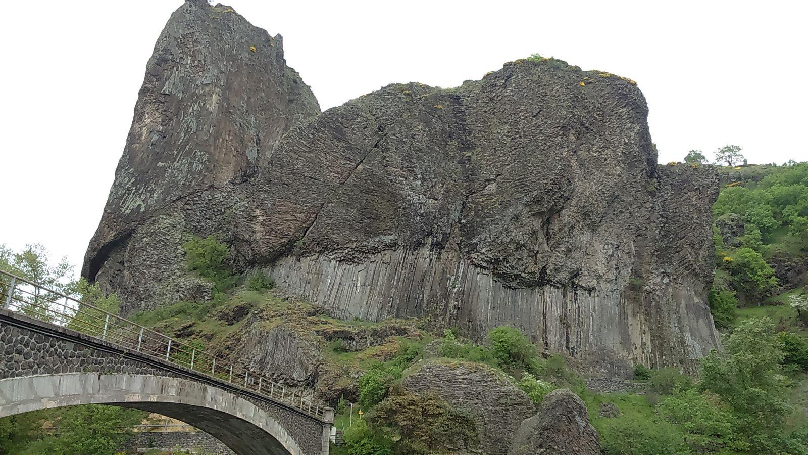 Roche Servière, merveille d'origine volcanique