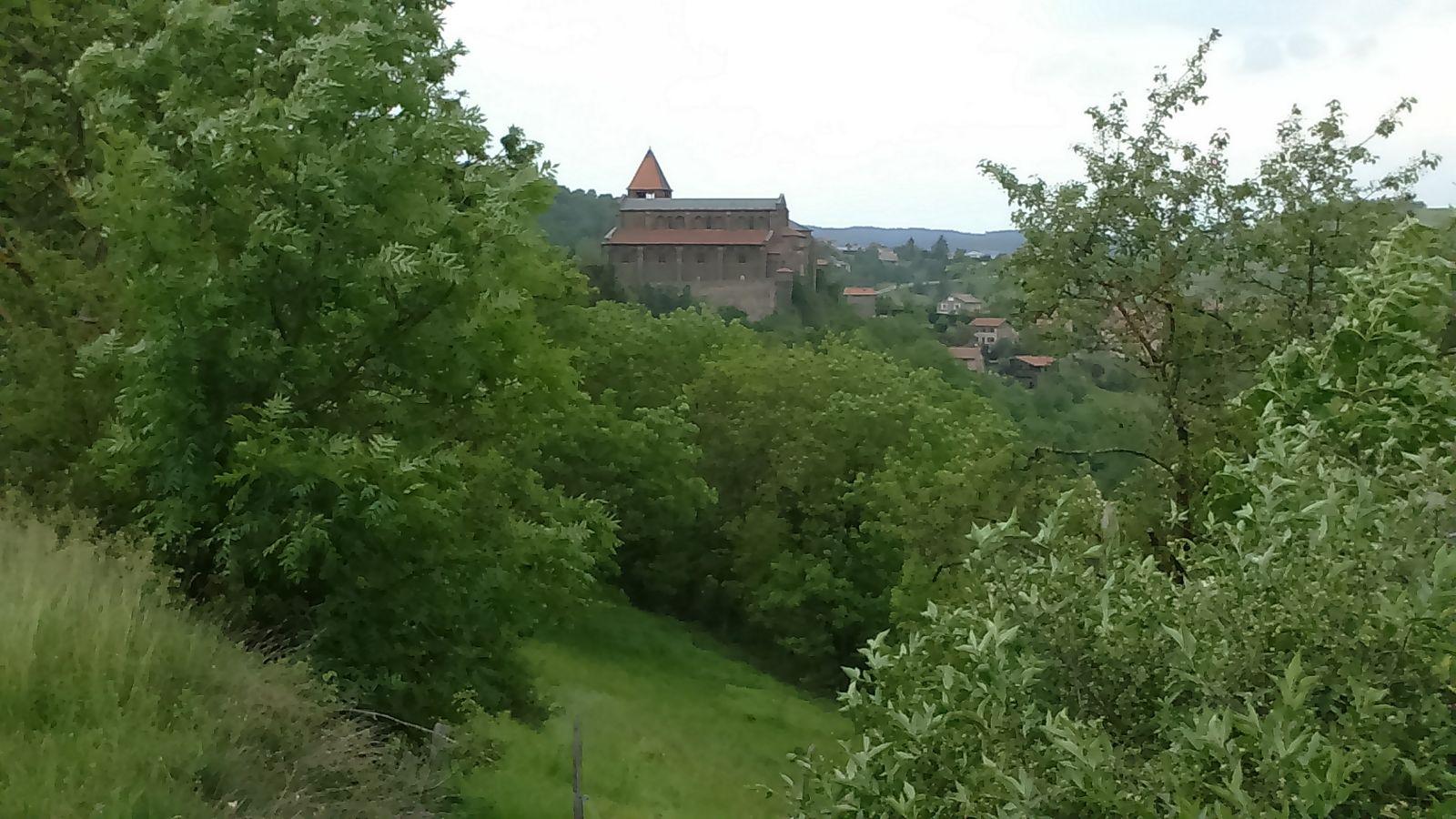 Chanteuge, prieuré et Eglise
