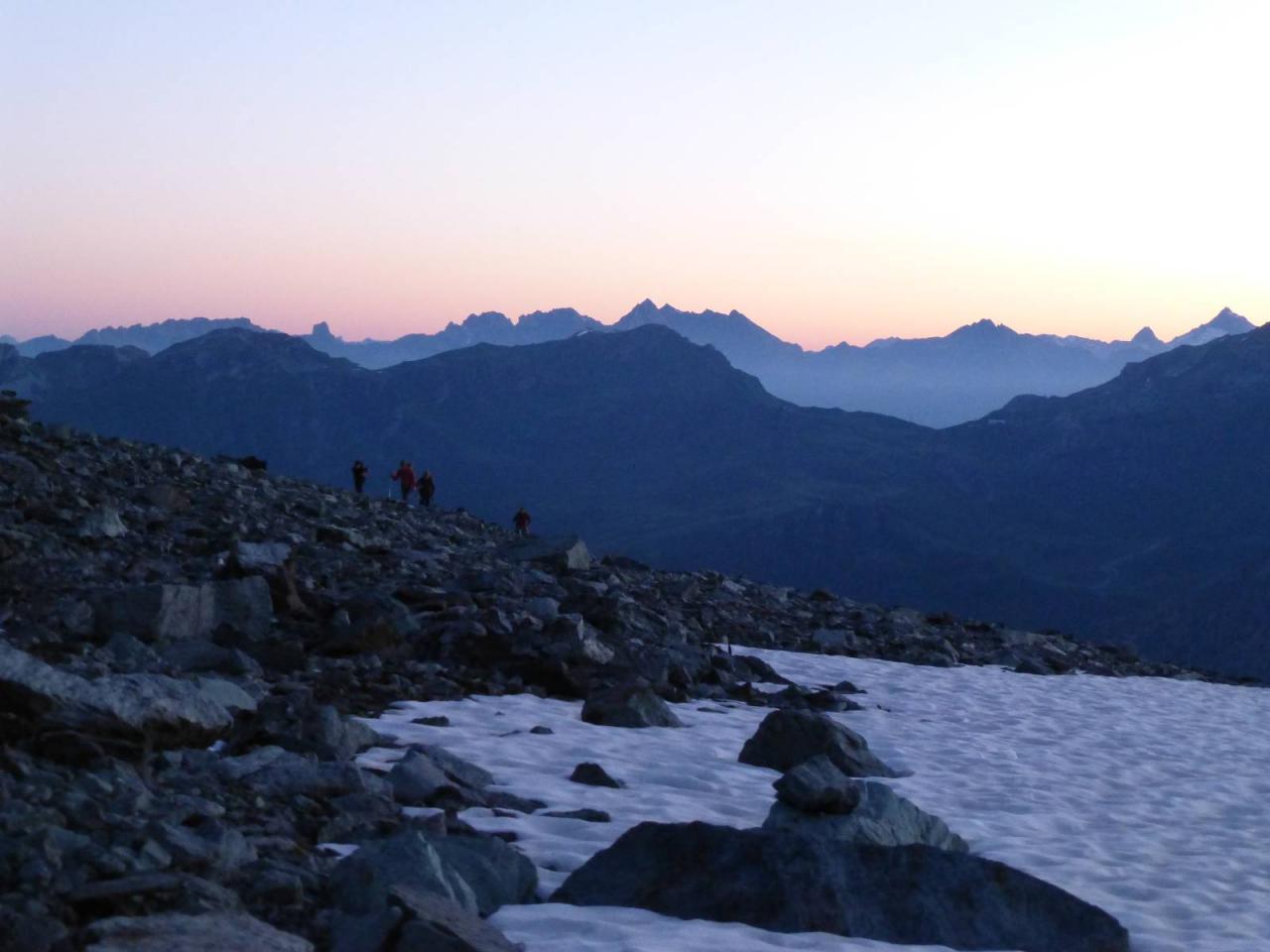 Stage alpinisme Ecrins juillet 2014