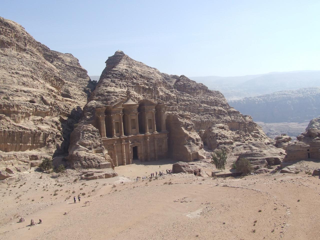 Le Monastère à Pétra (Jordanie)