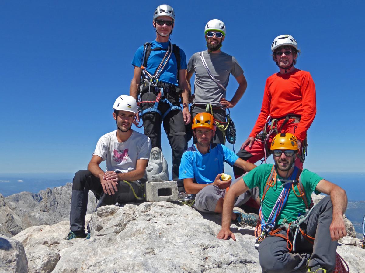 Stage alpinisme Picos de Europa Août 2016