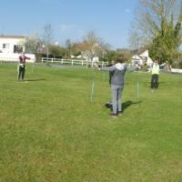 séance de Fitnordic à Louvigny