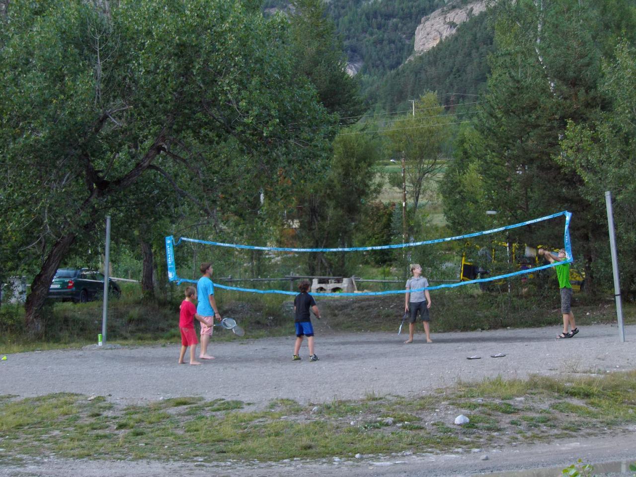 Jeux au camping