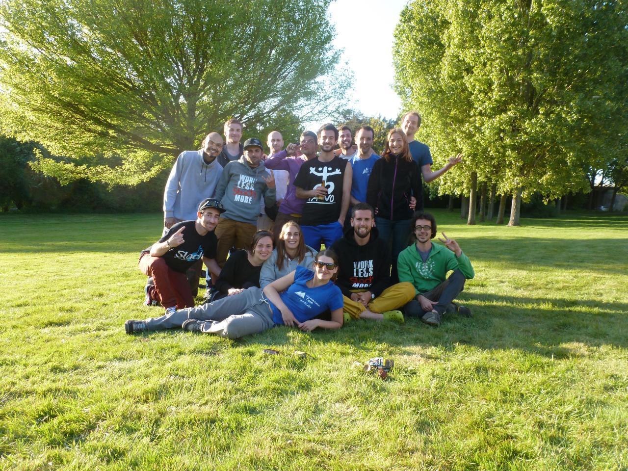 Slacktour 2017 - Team slacktour