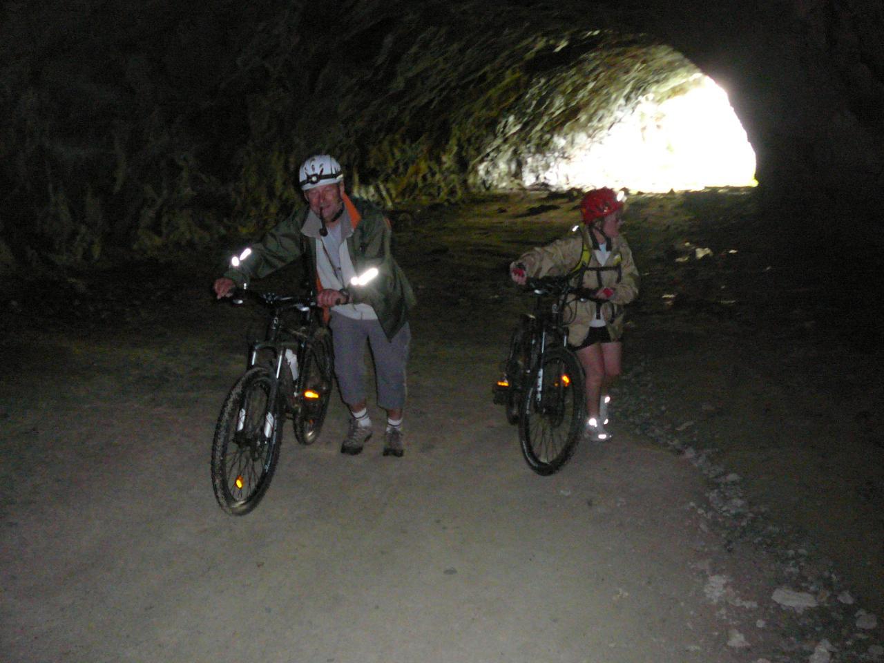 Val d'Aoste 8 2011, tunnel inachevé