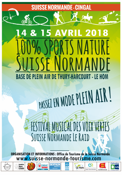 Affiche 100 sportnature 2018