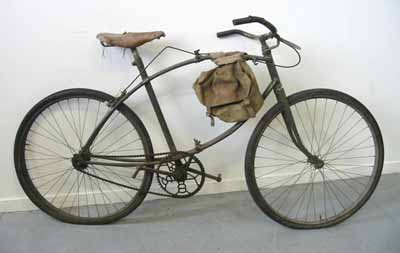 Le même vélo mais déplié